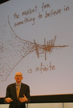 Seth Godin Interview market to believe in