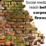 social media behind firewalls