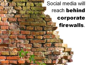 social media behind firewalls