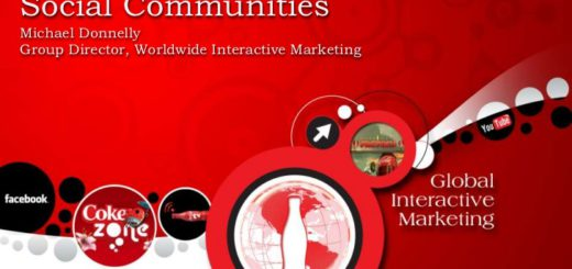 cokes fans first approach in social communities