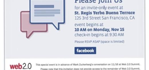 facebook email invite