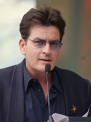 Charlie Sheen March 2009