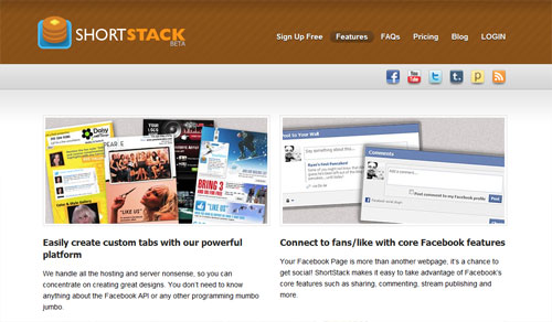 facebook page tools shortstack 4 Free Facebook Landing Page Creation Tools