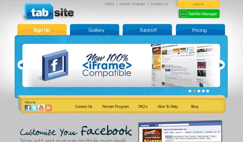 facebook page tools tabsite 4 Free Facebook Landing Page Creation Tools