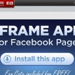 Facebook page tools Wildfire iframe app