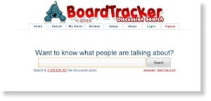 boardtracker 48 Free Social Media Monitoring Tools