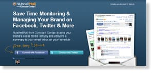 nutshellmail Free Social Media Monitoring Tools
