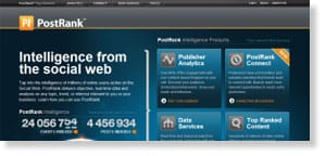 postrank 48 Free Social Media Monitoring Tools