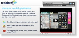 socialseek 69 Free Social Media Monitoring Tools [UPDATE 2013]