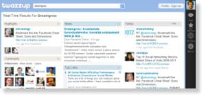 twazzup 54 Free Social Media Monitoring Tools [Update2012]