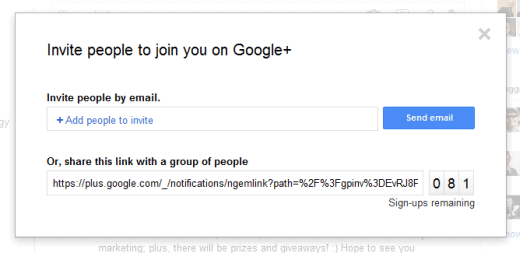 google plus invites Google+ is failing! [DATA]