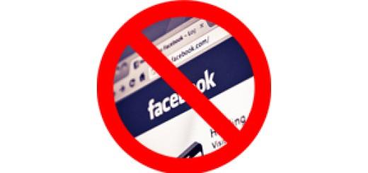 social media no sign