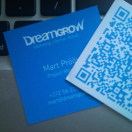 business card qr code