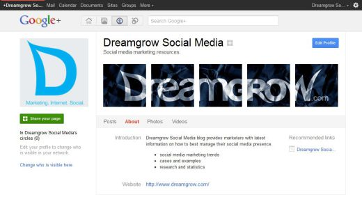 google plus page done 1 520x283 How to Create a Google+ Page for Your Brand