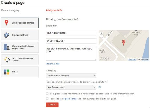 google plus page local locate 3 520x376 How to Create a Google+ Page for Your Brand