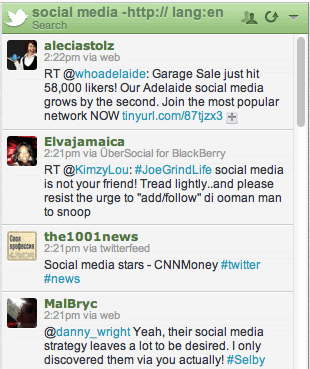 hootsuite twitter advanced search