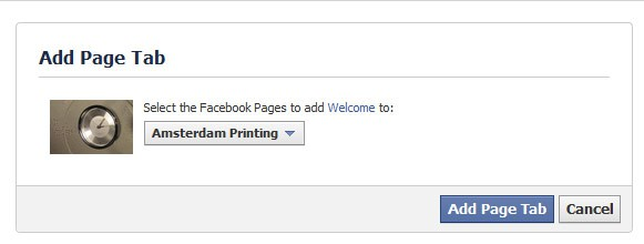 fb add pagetab How To Set Up a Custom Facebook Landing Page