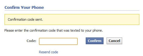 fb confirm code How To Set Up a Custom Facebook Landing Page