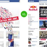 red bull facebook landing page