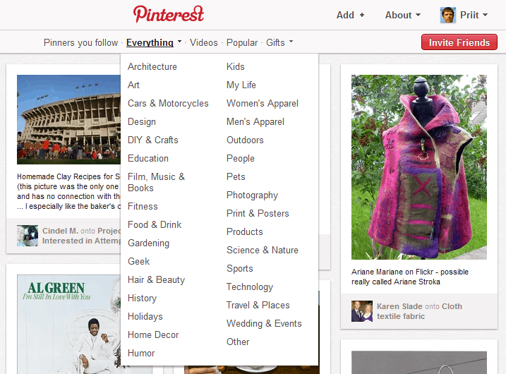 Pinterest Categories: What's Pinterest And How To Use It For Marketing Your