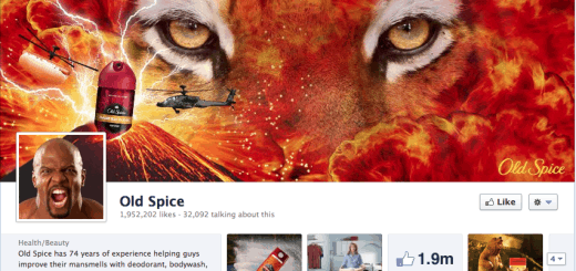 old spice facebook timeline cover page