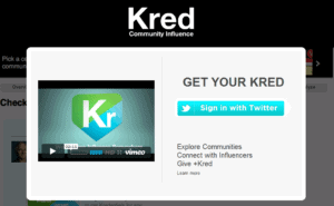 kred Free Social Media Monitoring Tools