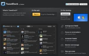tweetdeck 300x189 5 Best Tools to Put All of Your Social Networks in One Place