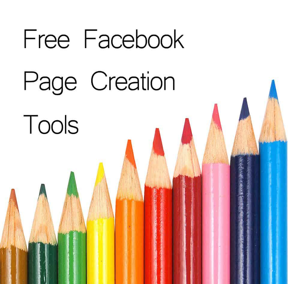 free facebook page creation tools