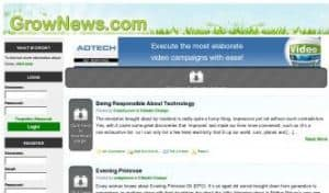 grownews 300x176 Stay In the Know: 5 Great Social News Sites