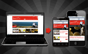 webMobile 300x184 7 Tips to Create Great Mobile Landing Pages