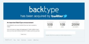 backtype 300x149 69 Free Social Media Monitoring Tools [UPDATE 2013]