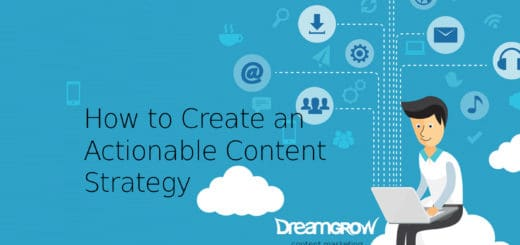 create actionable content strategy