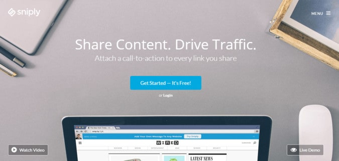 content sharing tools