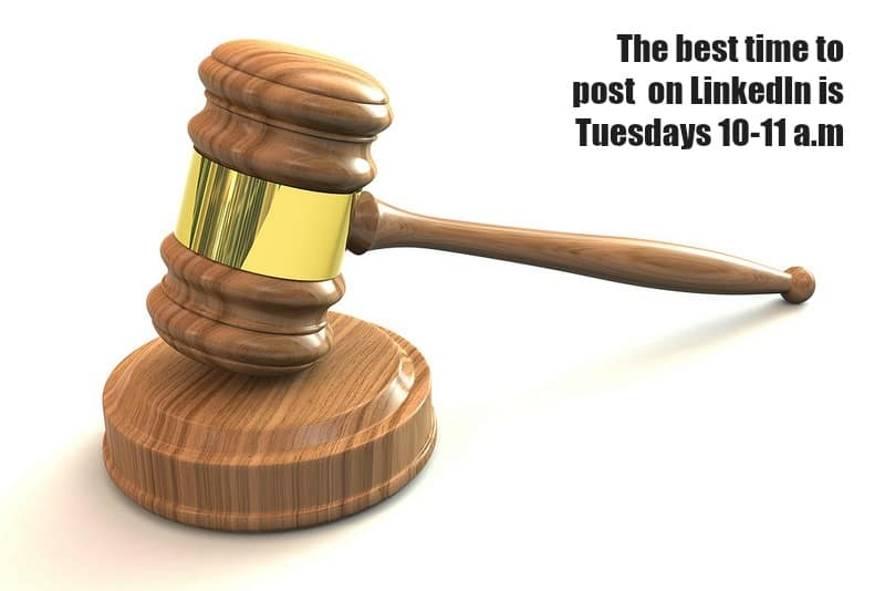 LinkedIn-best-time-gavel