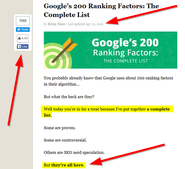 the-complete-google-ranking-factors