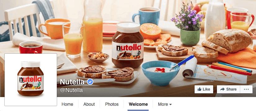 nutella-facebook-design
