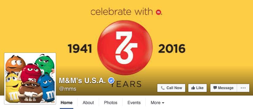 m-and-m-facebook-design