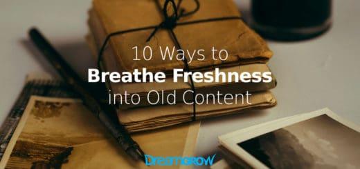 freshness-into-old-content