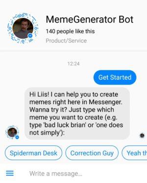 memegenerator-messenger-bot