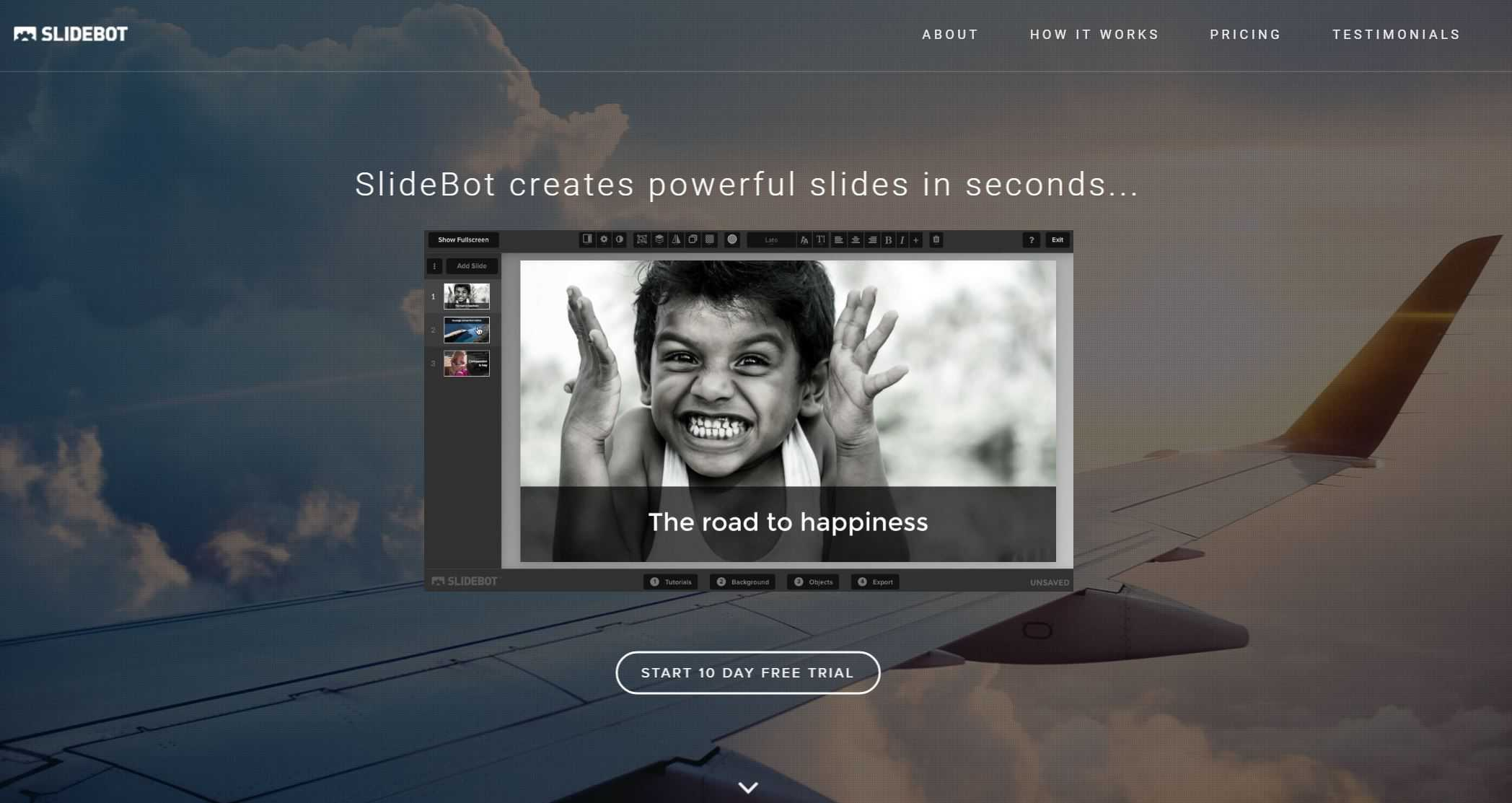 slidebot-visual-tool