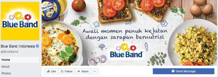 facebook cover image blue band indonesia