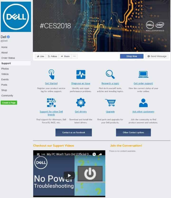 facebook cover image dell