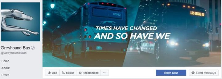 facebook cover image greyhound bus
