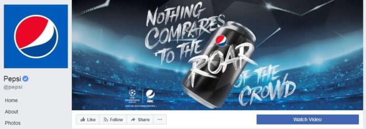 facebook cover image pepsi
