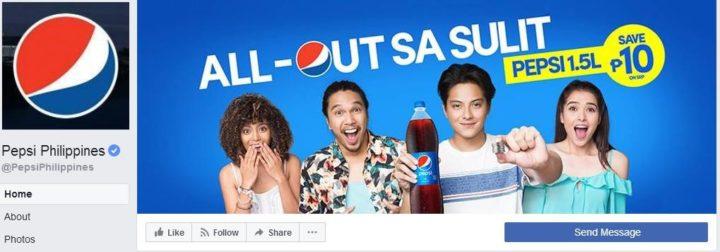 facebook cover image pepsi philippines