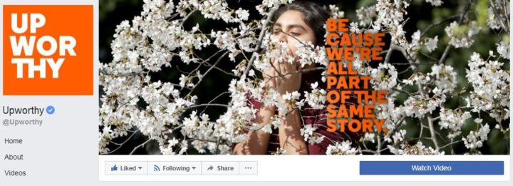 facebook cover image upworthy