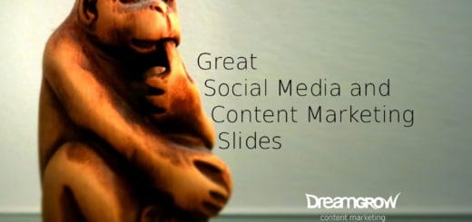 social media content marketing slides