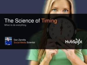 TimeSci Dan Zarrella