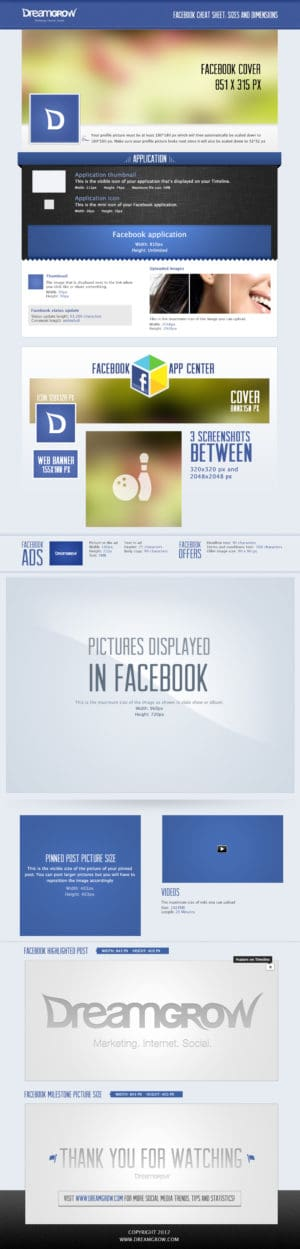 Facebook Cheat Sheet Sizes and Dimensions2 300x1249 Facebook Cheat Sheet: Sizes and Dimensions