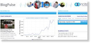 blogpulse 48 Free Social Media Monitoring Tools